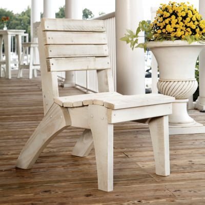 Companion Collection Dining Chair - Pine -