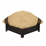 Classic Accessories 40 Inch Square Veranda Elite Fire Pit Cover