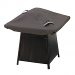 Classic Accessories 40 Inch Ravenna Square Fire Pit Cover