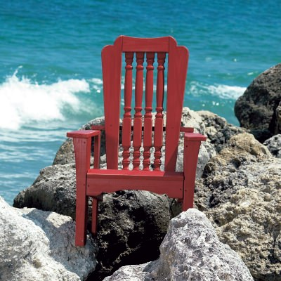 Hatteras Collection Single Chair - Pine -