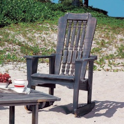 Hatteras Collection Single Rocker - Pine -