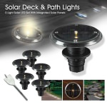 Kenroy Solar LED  Deck, Dock
