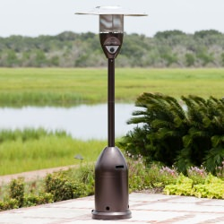 Commercial Bronze finish Patio Heater 46,000 BTU