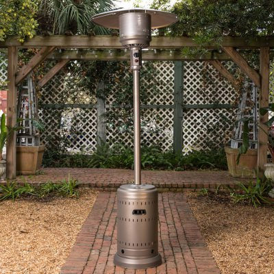 Kaffee Powder Coated Stainless Steel Patio Heater