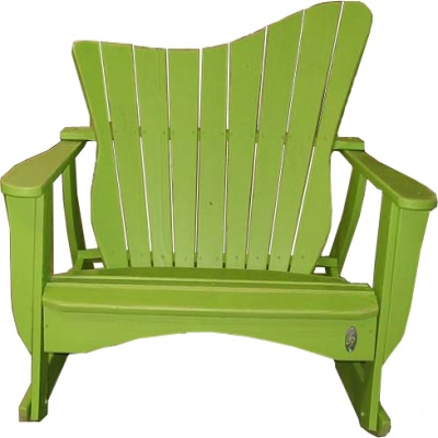The Wave Collection Double Rocker - Pine -