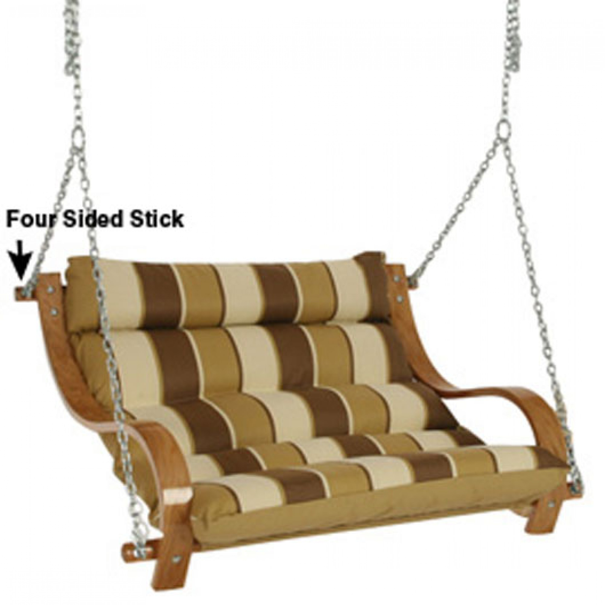 Replacement Parts For 60 Inch Double Cushion Swing On Sale Dfohome