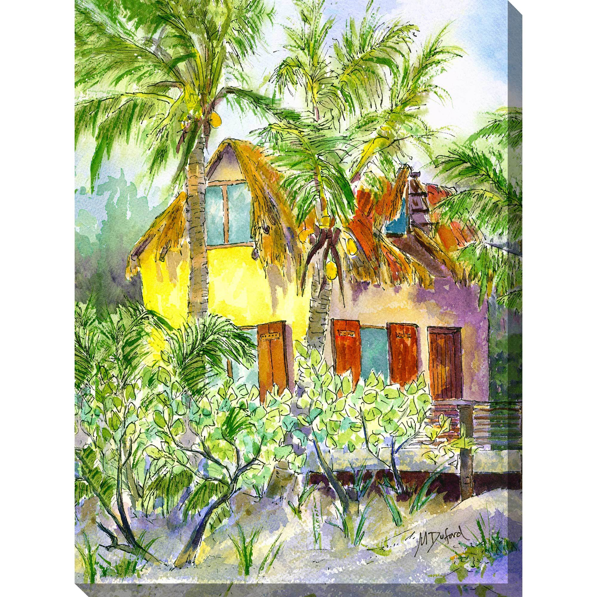 The hideaway outdoor wall art piece by West of the Wind | OU-71111 ...