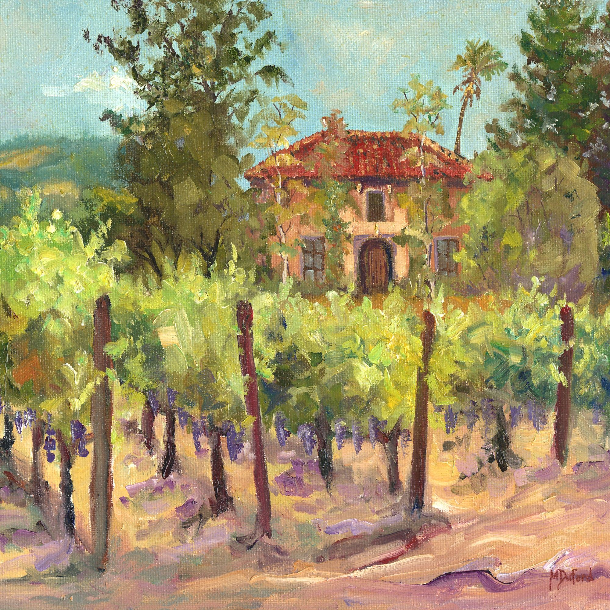 Tuck\'s vineyard outdoor wall art piece by West of the Wind | 72011 ...
