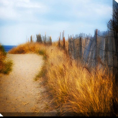 Smooth Path Outdoor Wall Art Piece
