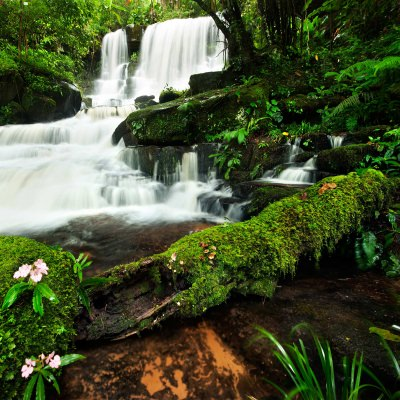 Cascading Falls No. 2 Outdoor Wall Art Piece