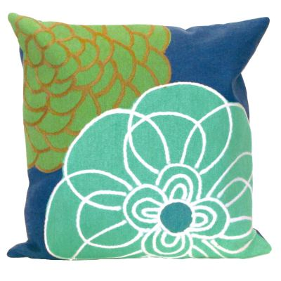 Floral Outdoor Pillows