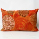 Graffiti Swirl Warm Outdoor Pillow