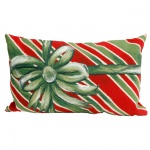 Gift Box Holiday Outdoor Pillow