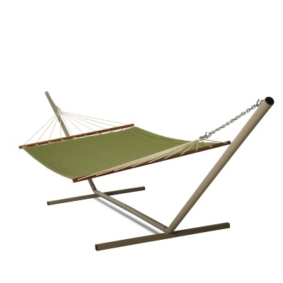 Large 2 Person Sunbrella Quilted Hammock - Canvas Turf