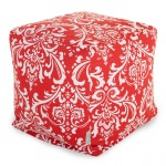Red French Quarter Small Outdoor Cube