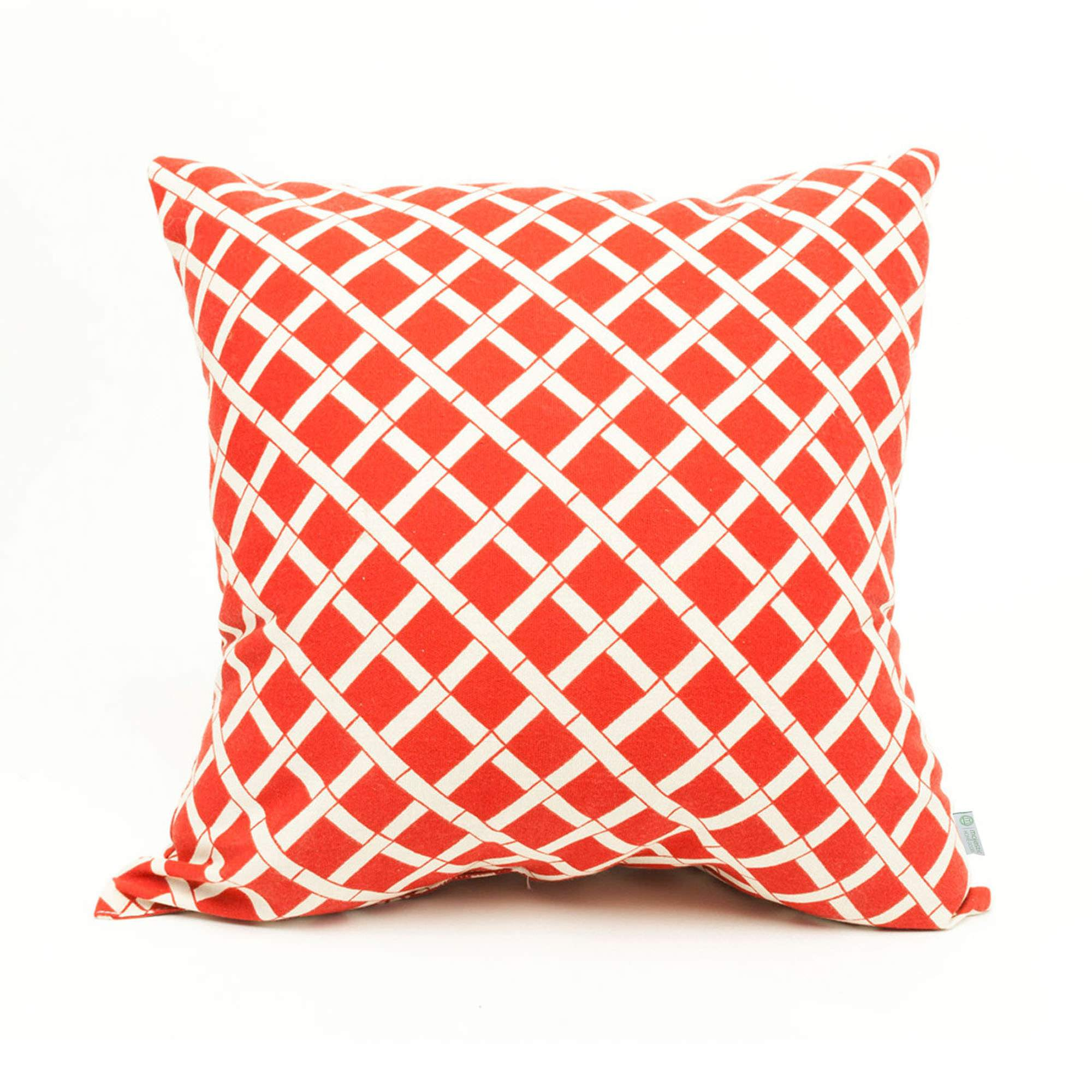 shop red bamboo large outdoor pillow