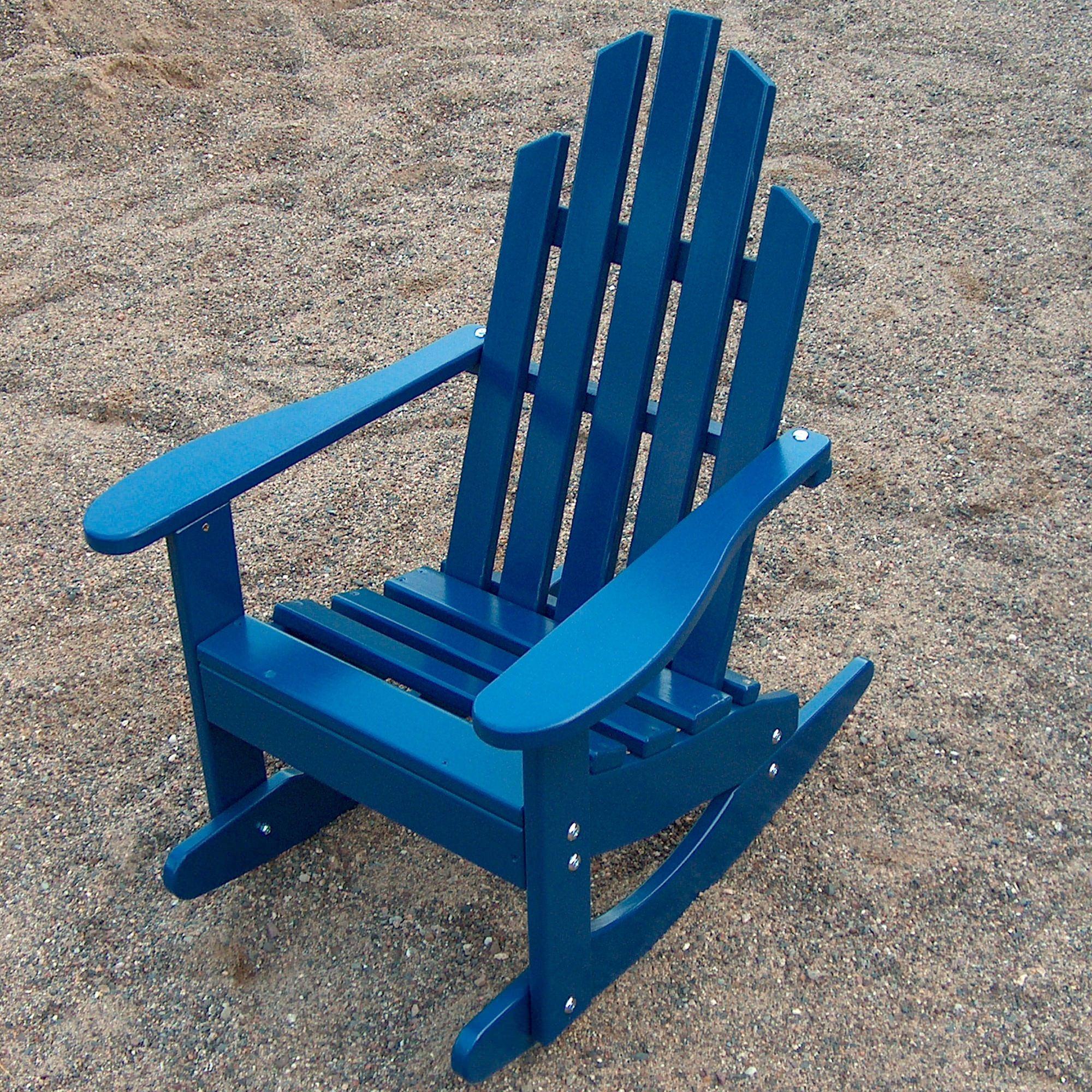 Junior Adirondack Rocking Chair  DFOHome