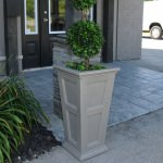Novo Oxford 28 Inch Tall UV and Mold Resistant Commercial Planter
