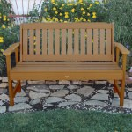Lehigh Garden Bench 4ft