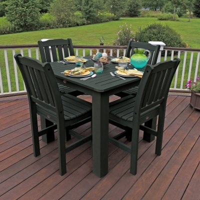 Lehigh 5pc Square Counter Dining Set