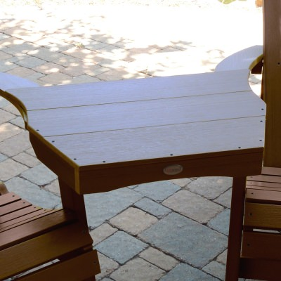 Adirondack Tete-a-Tete Connecting Table