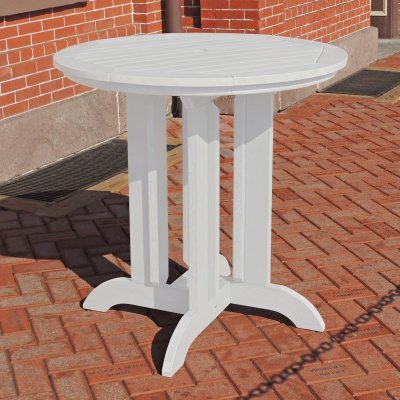 36 in Round Counter Dining Table