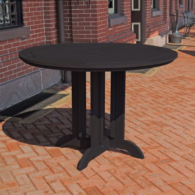48 in Round Counter Dining Table