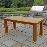 36 in x 72 in Rectangular Dining Table