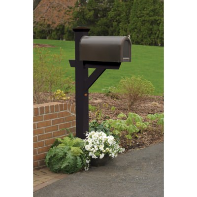 Hazleton Mailbox Post