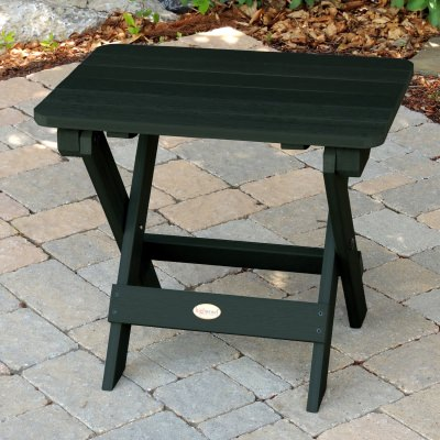 Folding Adirondack Side Table