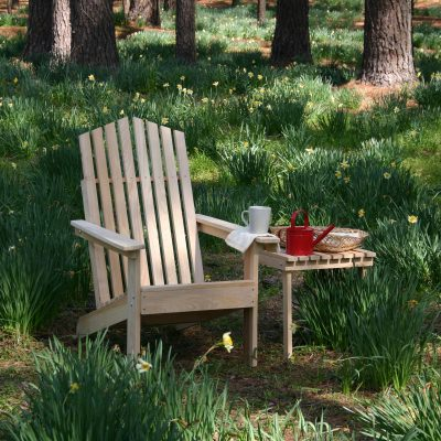 Hometown Exclusive Cypress Rustic Adirondack Chair