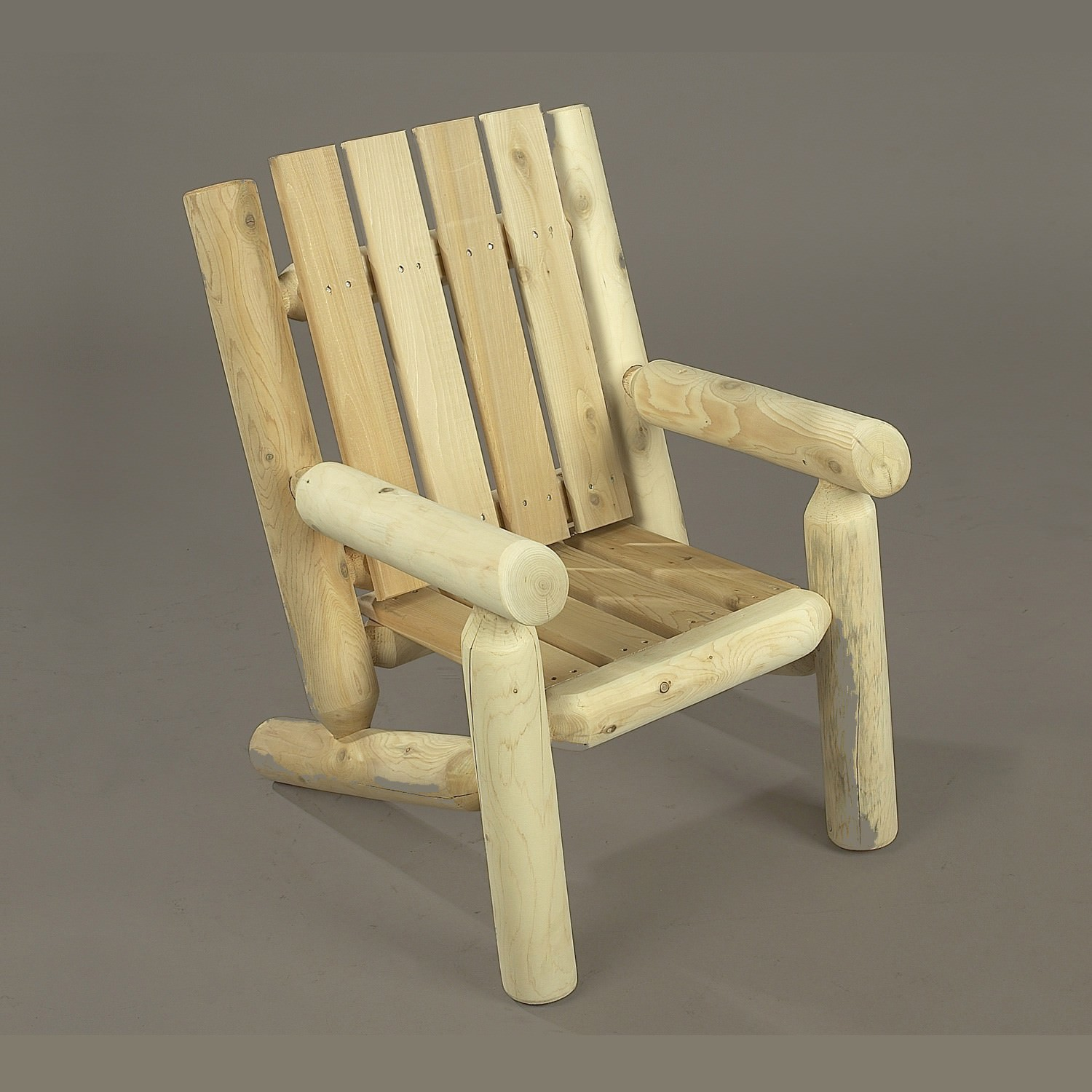 Captivating Kids Log Chair Furniture Set In Cedar Dfohome. Adirondack ...