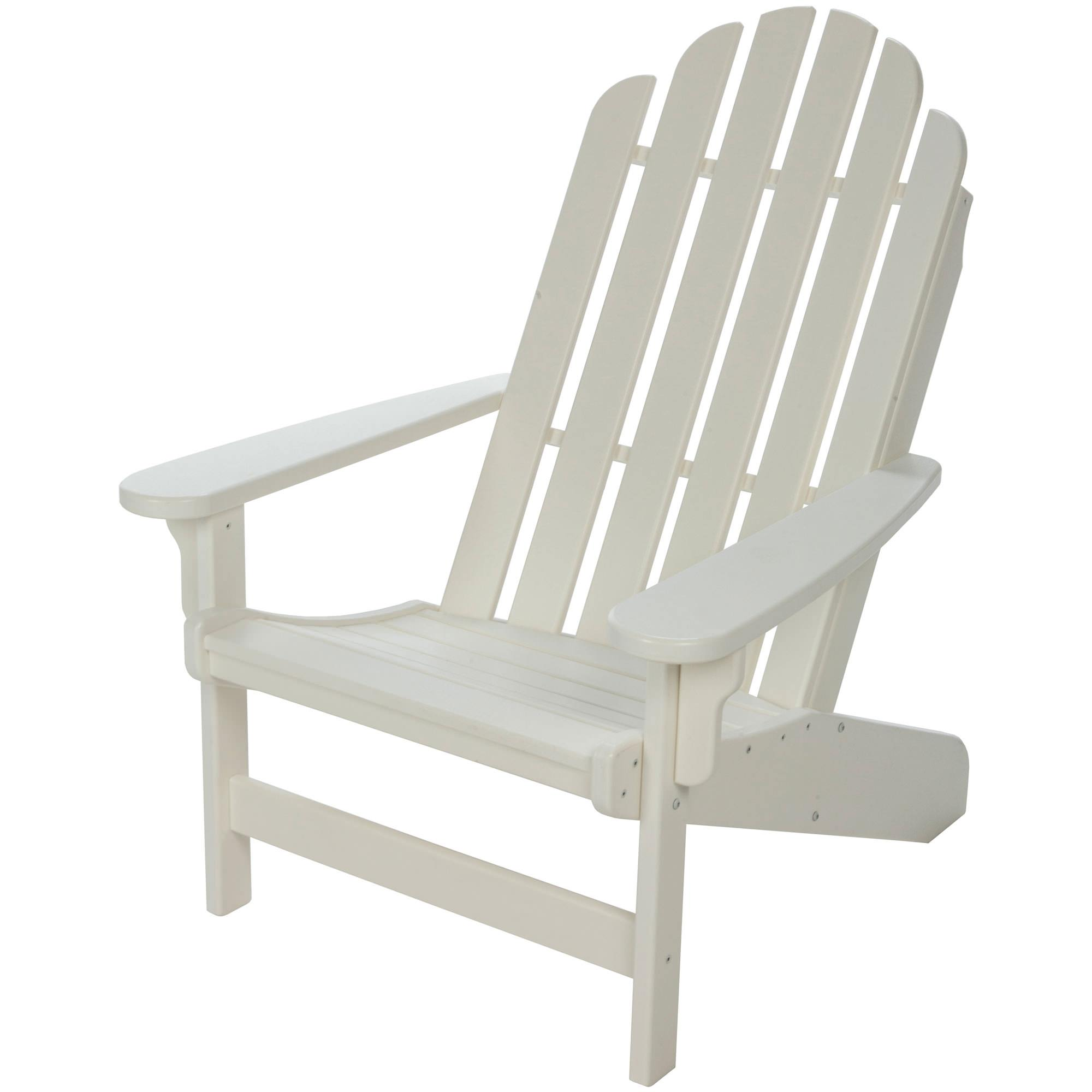 Lifetime Essential Adirondack Chair White NHH Durawood