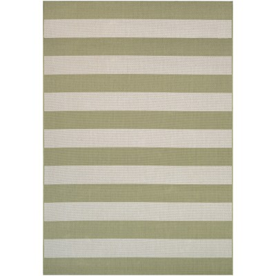 Afuera Yacht Club Honey/Ivory Outdoor Rug