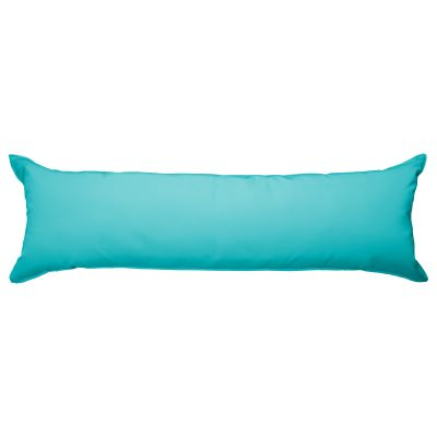 52 Inch Long Hammock Pillow with Polyester Filling - Aruba