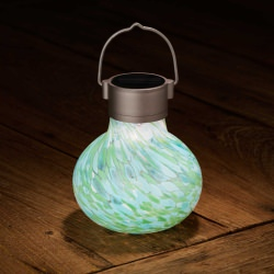 Allsop Solar Tea LED Lantern Mint
