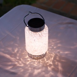 Soji Solar Boaters Lantern White Cylinder LED Light