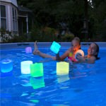 Luci Aura Waterproof Solar Inflatable LED Lantern in Changeable Colors
