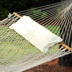 Chambray Natural Hammock Pillow