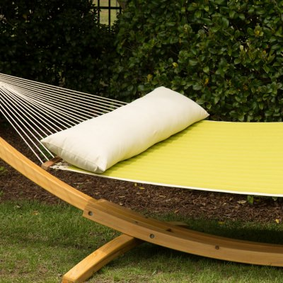 52 Inch Long Hammock Pillow - Cream