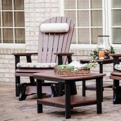 Comfo-Back Adirondack Glider - 18 colors available