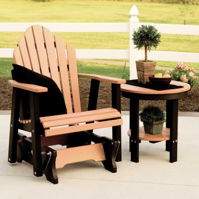 Cozi-Back Adirondack Glider - 18 colors available