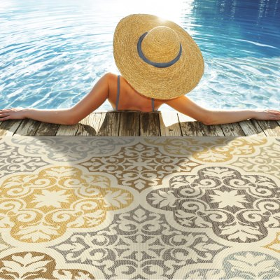 Machine Made Outdoor Rugs