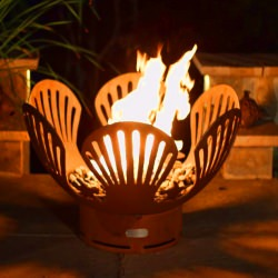 42 in. Steel Barefoot Beach Fire Pit