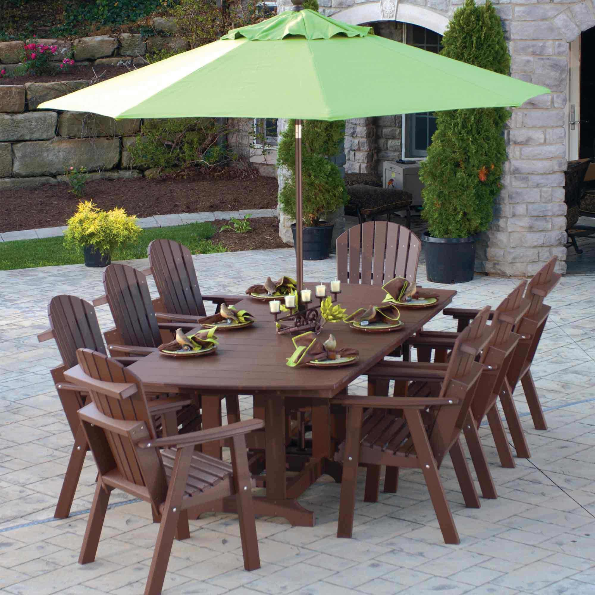 Perfect Berlin Gardens Furniture Classic Terrace Outdoor Poly Wood