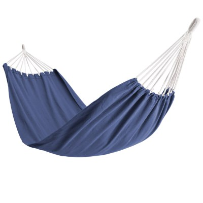 Single Brazilan Hammock in a Bag - Blue
