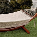 Bliss Island Rope Hammock - Canvas White