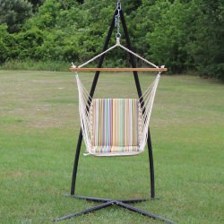 Single Cushioned Swing - Big Sur Stripe