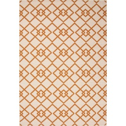 Jaipur Bloom Birch Taupe and Tan Trinity Outdoor Rug