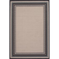 Jaipur Bloom Birch Ivory and White Matted Outdoor Rug
